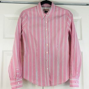 Thomas Pink striped button down traditional cuffs